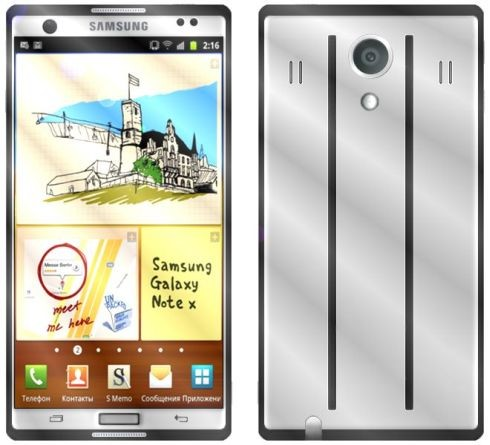 Galaxy Note 3 concept image by uva7dance
