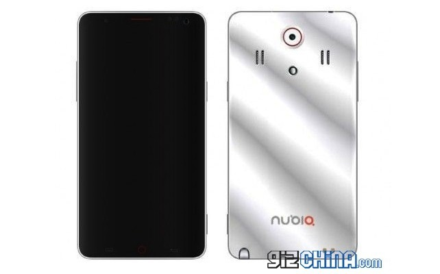 Leaked image of the ZTE Nubia Z7